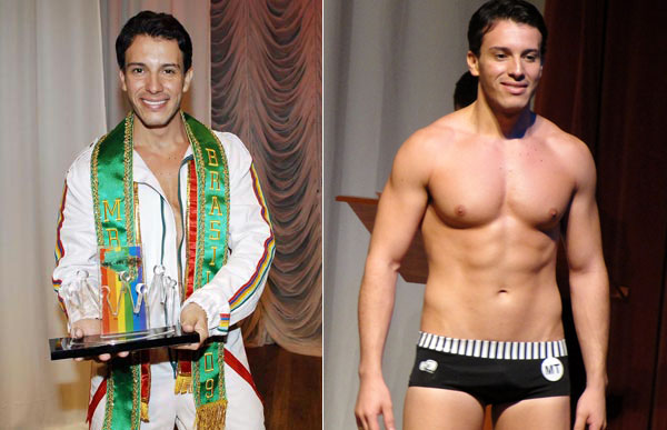 Watch a video of the opening number of the Mr. Gay Brazil contest after the ...
